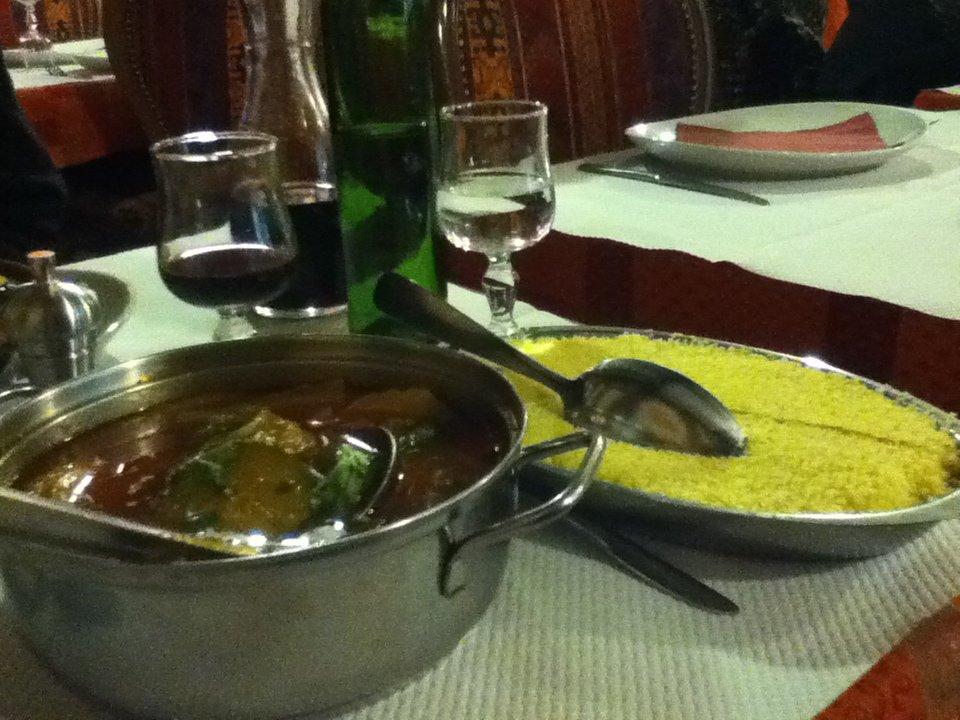 Vegetarian couscous vegan in Normandy