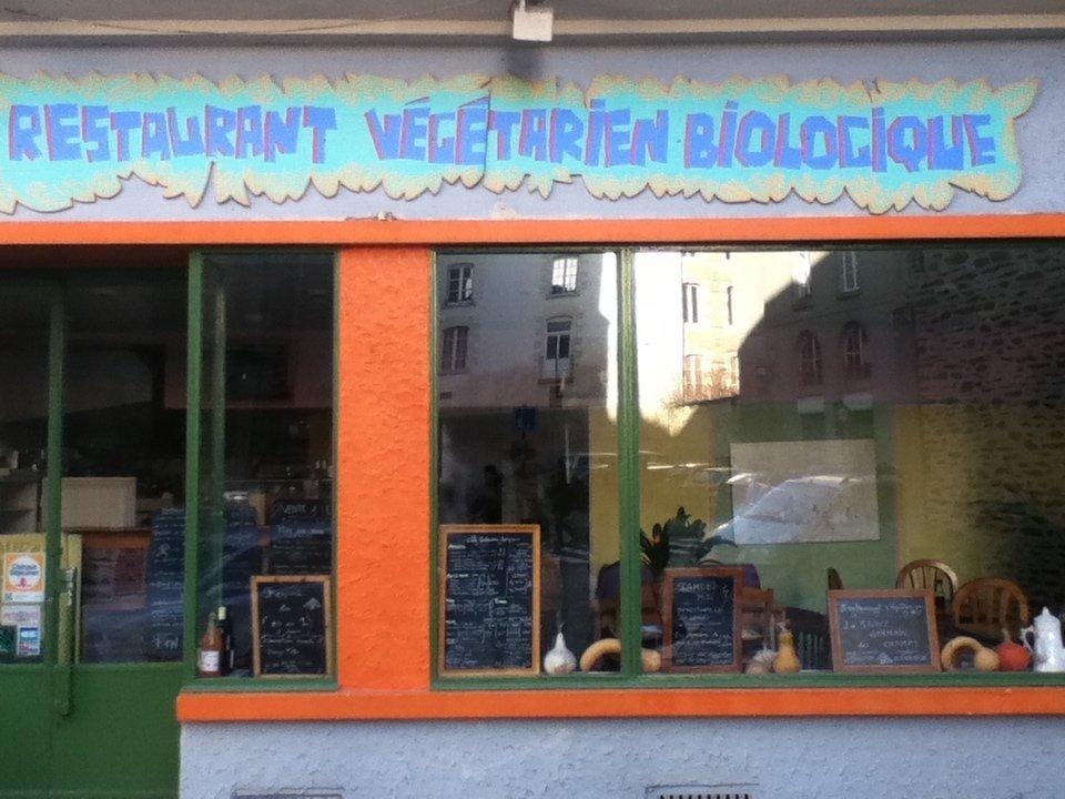 An organic vegetarian restaurant in Rennes - vegan in Normandy