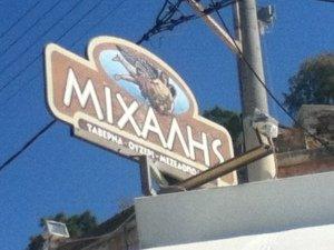Vegan-friendly Mihalis mezedopoleio (meze restaurant) in Chania, Crete