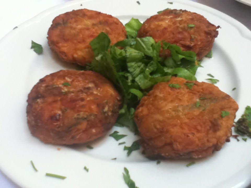 Vegan tomato balls, To Steki Tavern, Chania, Crete