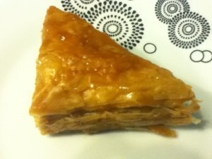 Baklava in Thessaloniki, Greece