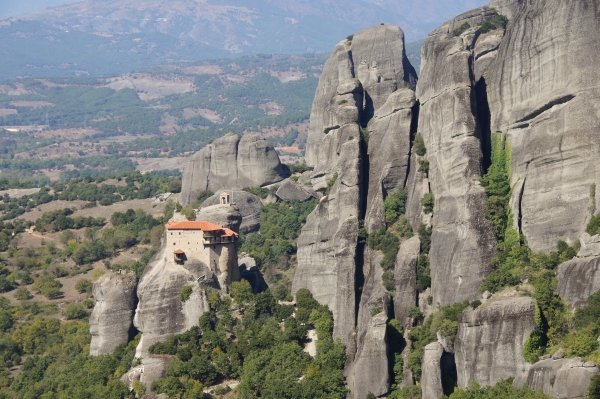 Vegan travel in Meteora, Greece