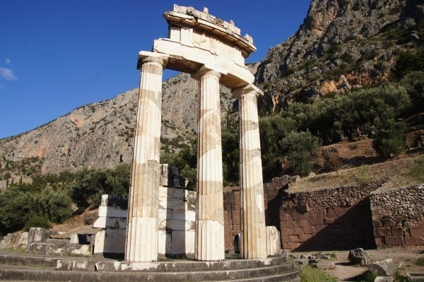 Delphi sanctuary, Greece