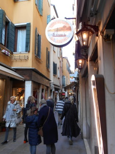 Vegan-friendly La Feluca Restaurant in Venice, Italy