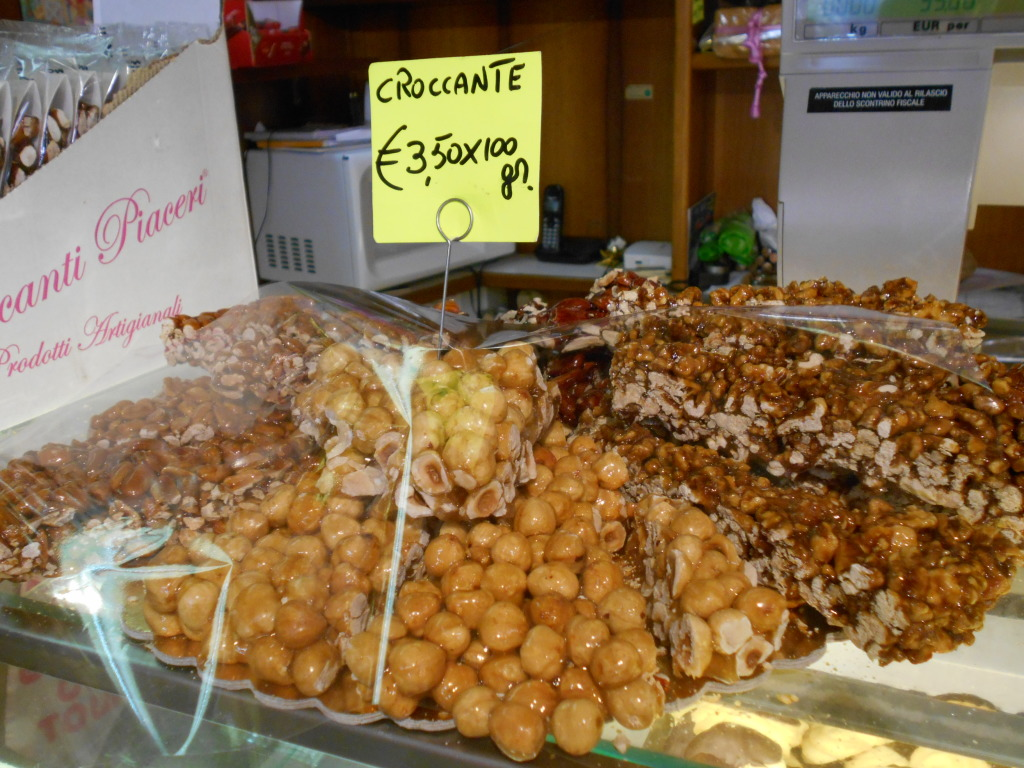 Croccante (nut brittle) in Venice, Italy