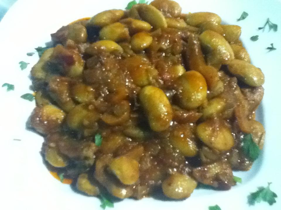 Gigantes - Vegan food at Balsamico Restaurant in Ioannina, Greece