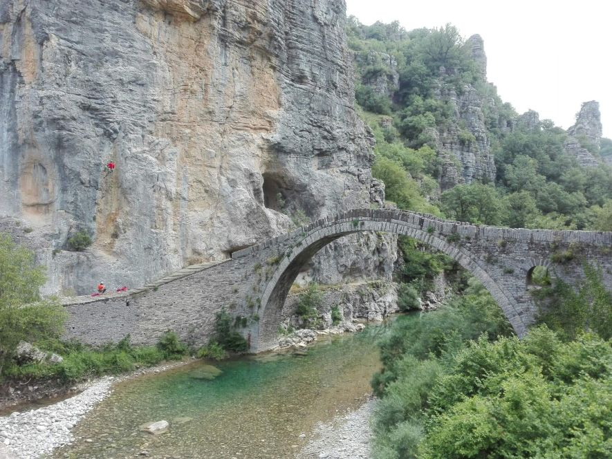 Noutsos Bridge - Vikos Gorge
