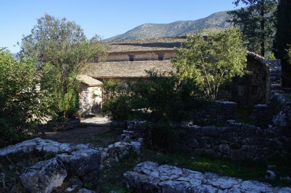Vegan travel in Ioannina_Monastery