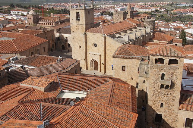 Cáceres tower view