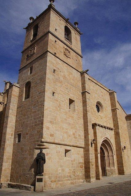 Cáceres historic architecture