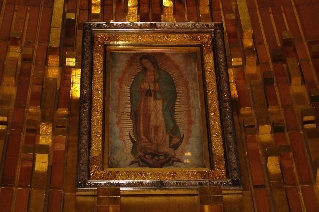 Miraculous image of Our Lady of Guadalupe