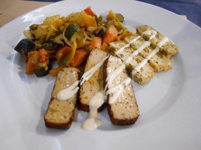 Assortment of tofu