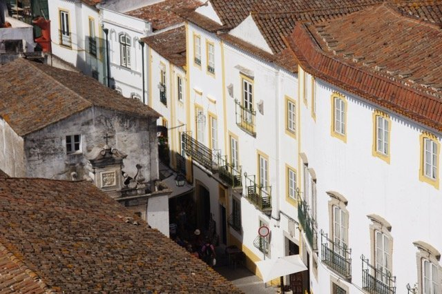 Vegan travel in Évora, Portugal