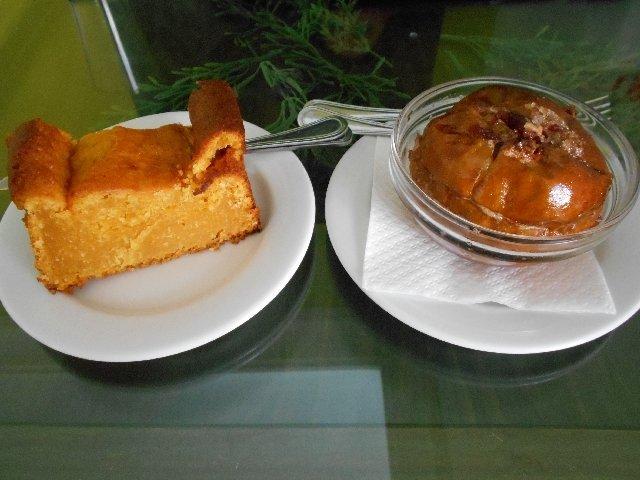 Dessert at Salsa Verde