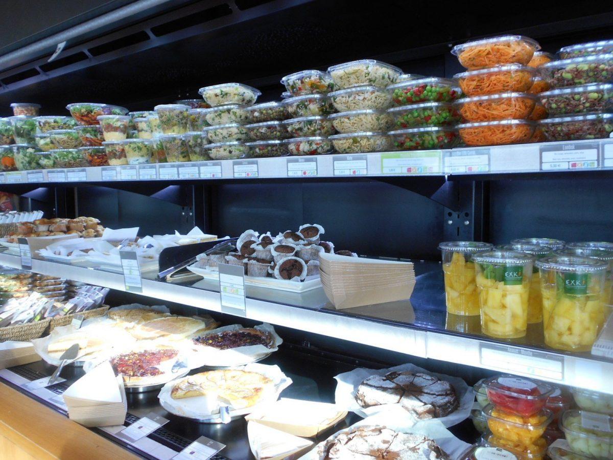 Exki - vegan food at Charles de Gaulle Paris airport