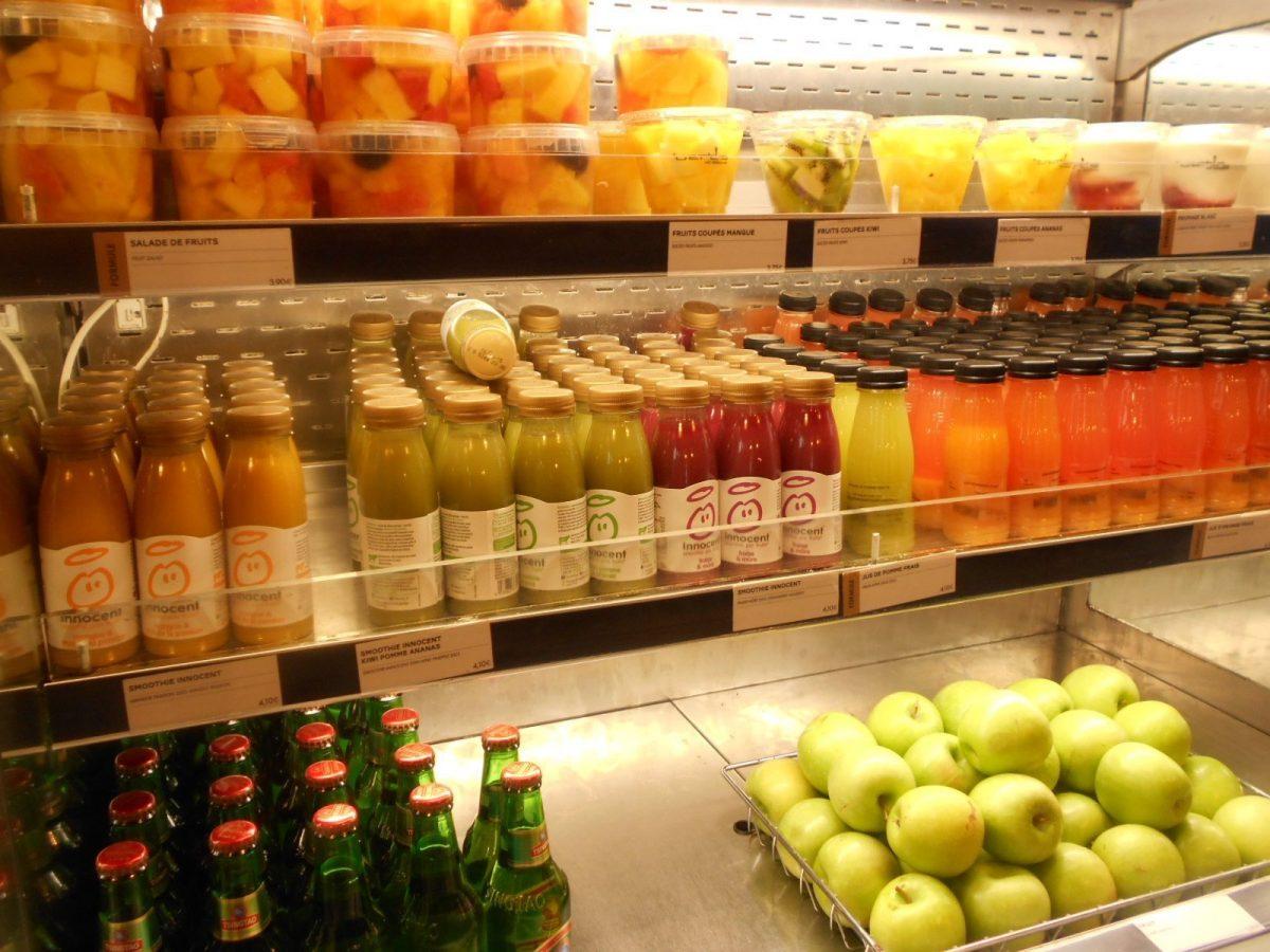 vegan options at Bert's café in Charles de Gaulle airport