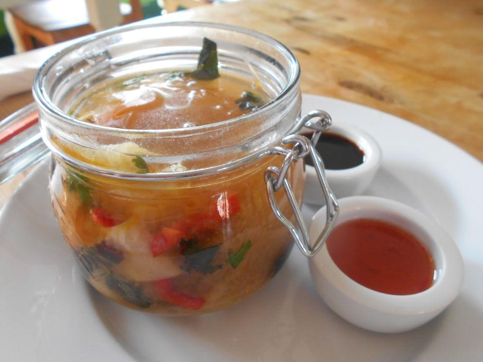 vegan noodle dish at the Veg Box Café Canterbury