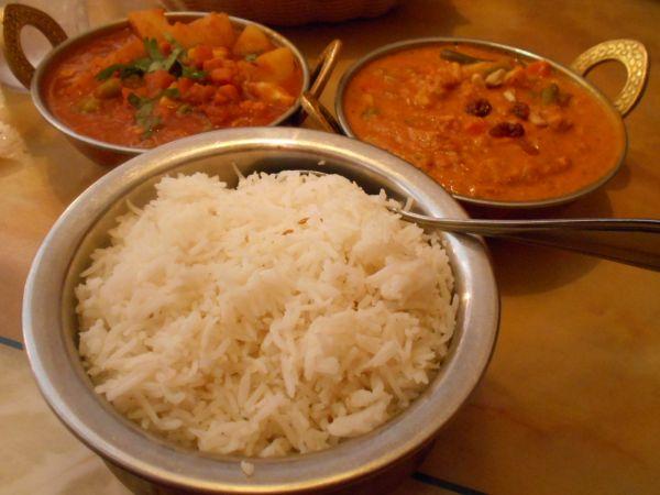 Curries at Yak Kathmandu Kitchen