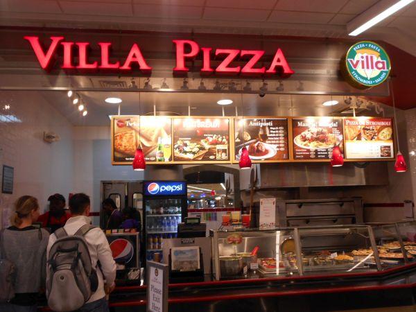 Villa Pizza - vegan food in the Atlanta Airport