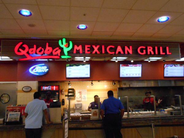 Qdoba Mexican Grill - vegan food in the Atlanta Airport
