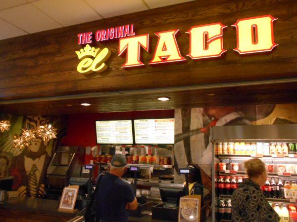The Original El Taco - vegan food in the Atlanta Airport