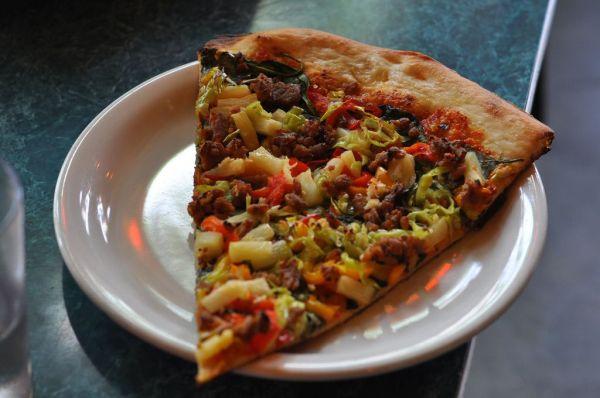 Vegan pizza -  Bella Faccia Portland Oregon