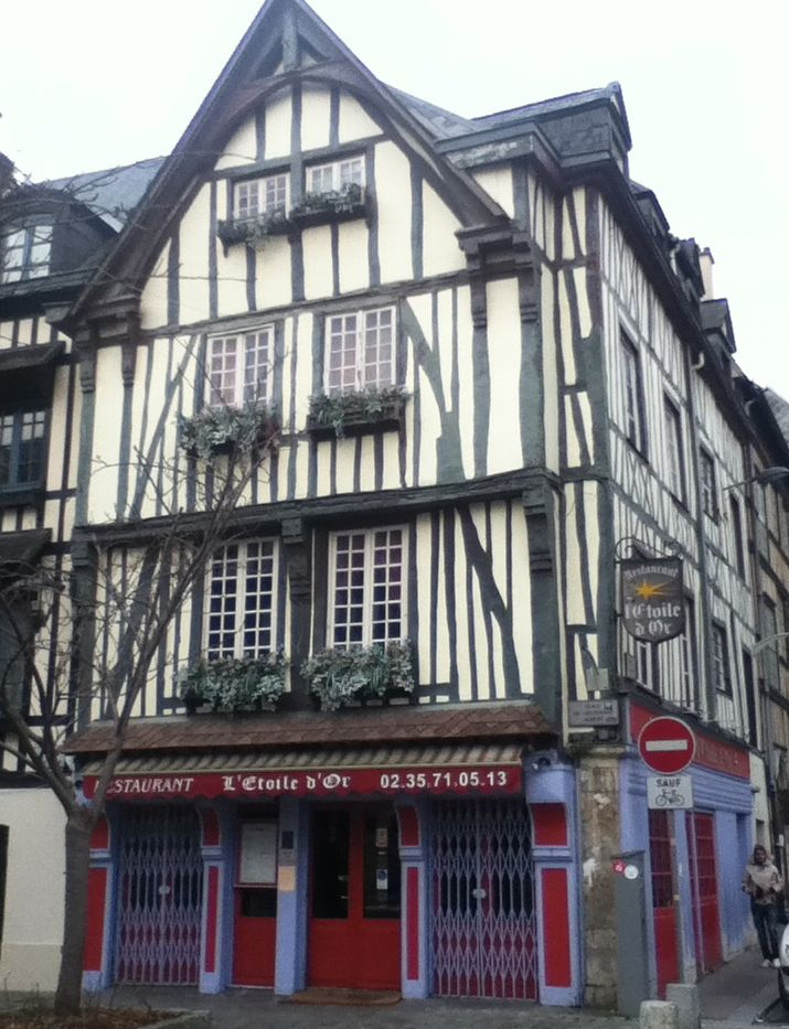 The Etoile D'Or Moroccan restaurant in Rouen - vegan in Normandy