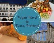 Vegan Travel in Évora, Portugal - vegan in Évora