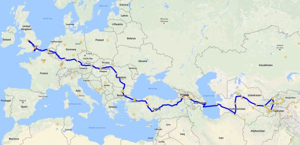 how to be vegan on the mongol rally