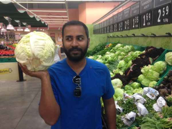 Turkish supermarket produce - how to be vegan on the Mongol Rally