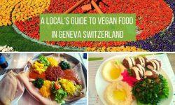 Vegan restaurants Geneva Switzerland
