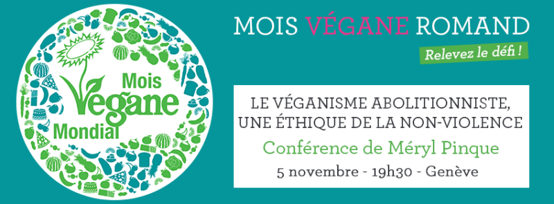 Conference Meryl Pinque - World Vegan Month Switzerland