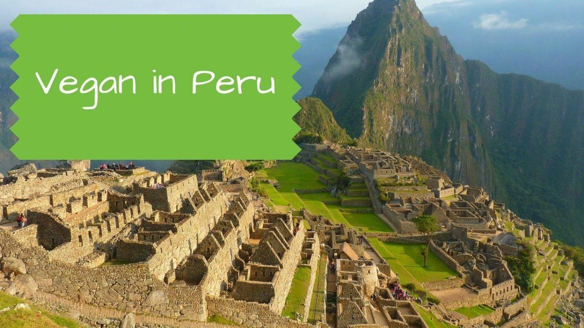 Vegan in Peru - Machu Picchu