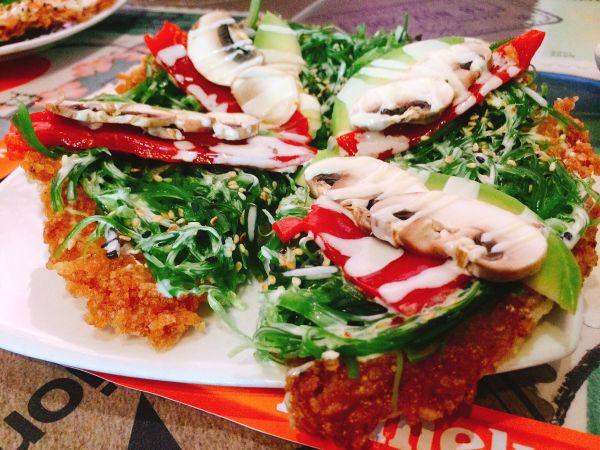 Nación Sushi - vegan sushi pizza - Vegan in Panama