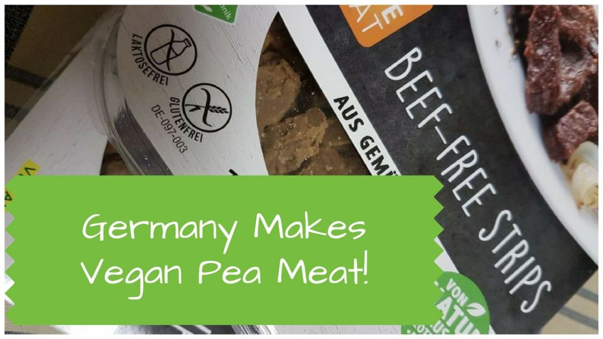 Rediscovering Vegan Germany Pea Meat