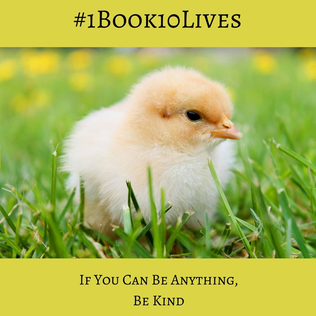 Help Animals with the #1Book10Lives Veggie Planet Campaign