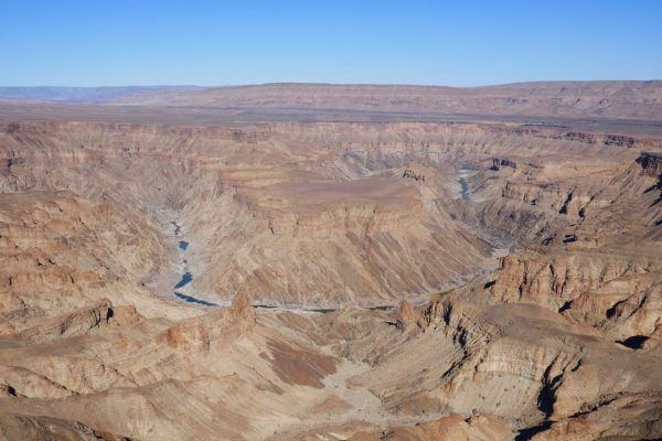 Fish River Canyon - tour of Namibia