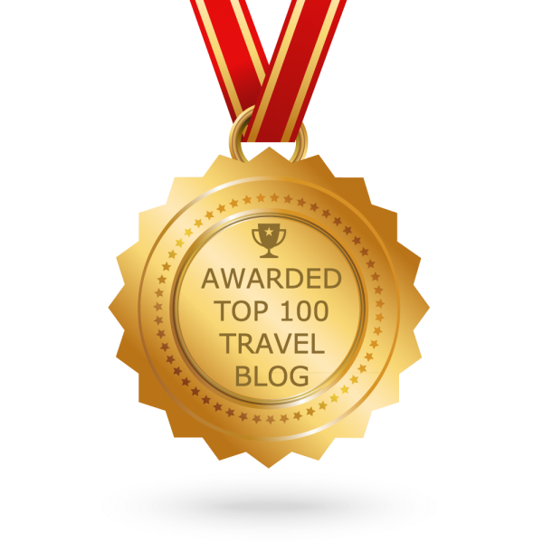 Feedspot top 100 travel blog