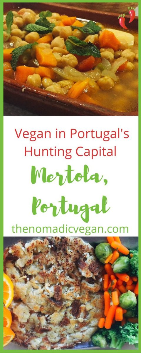 How to stay vegan in Mertola, the hunting capital of Portugal