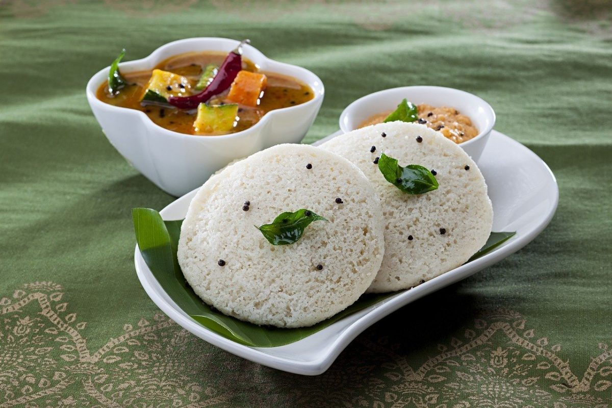 idli - vegan Indian meals