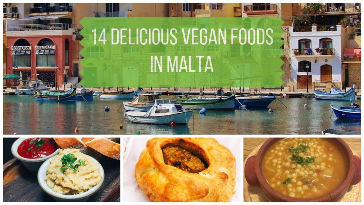 14 Delicious Vegan Foods in Malta