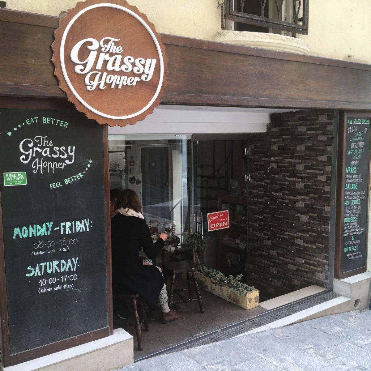 The Grassy Hopper - vegan restaurant Malta