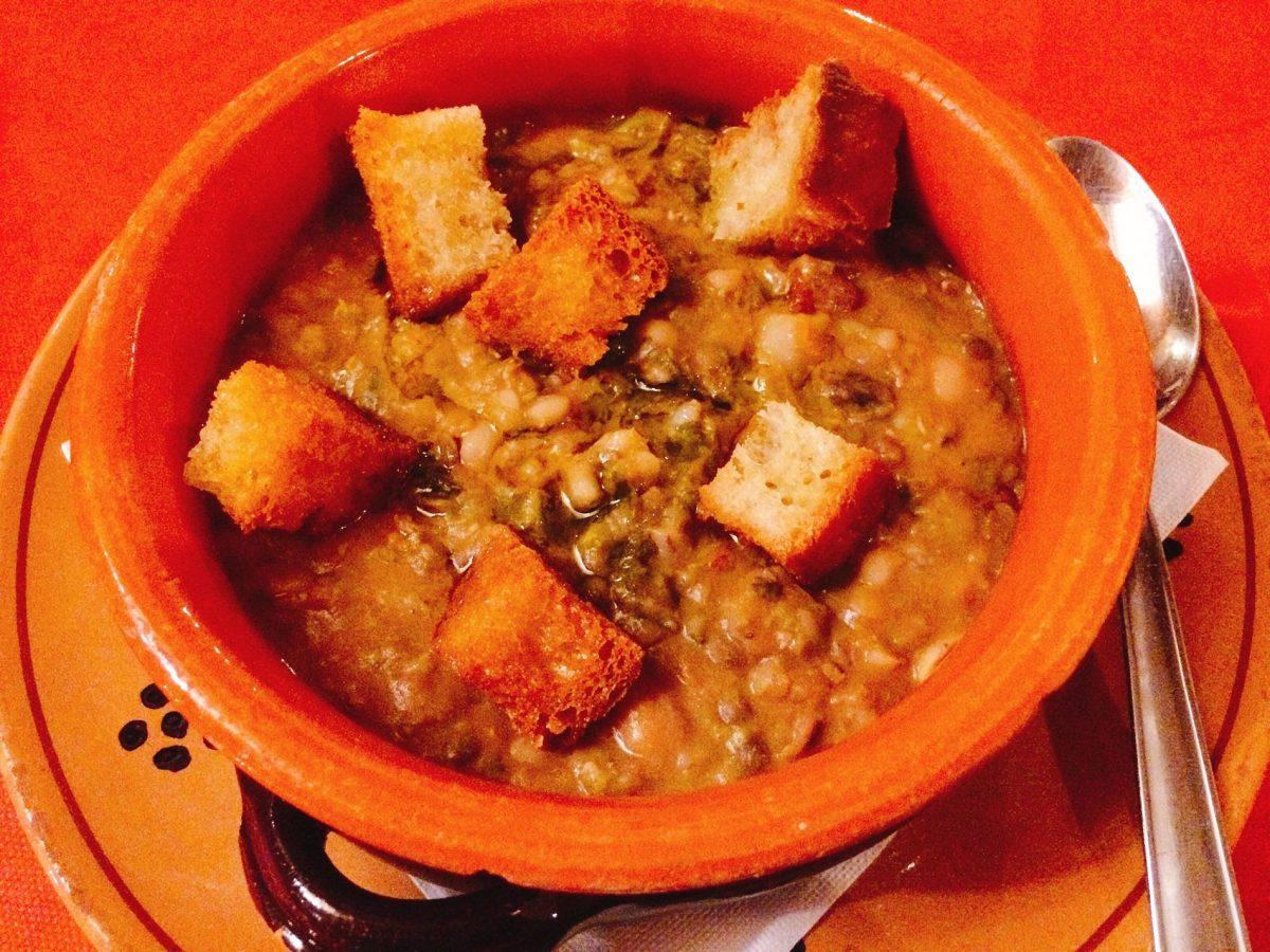 Ceca mariti -- a classic dish in Puglia cuisine