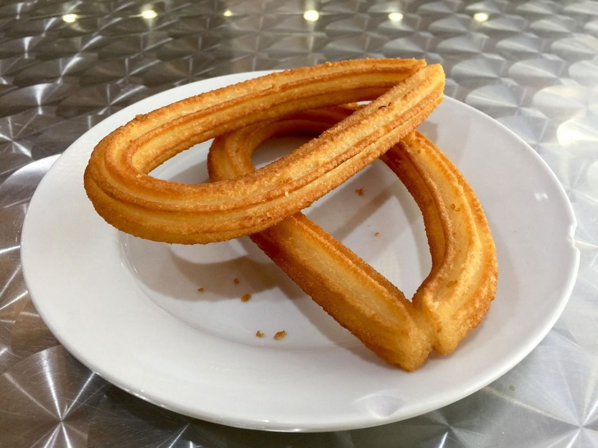 Churros may be vegan, but they're definitely not gluten free.