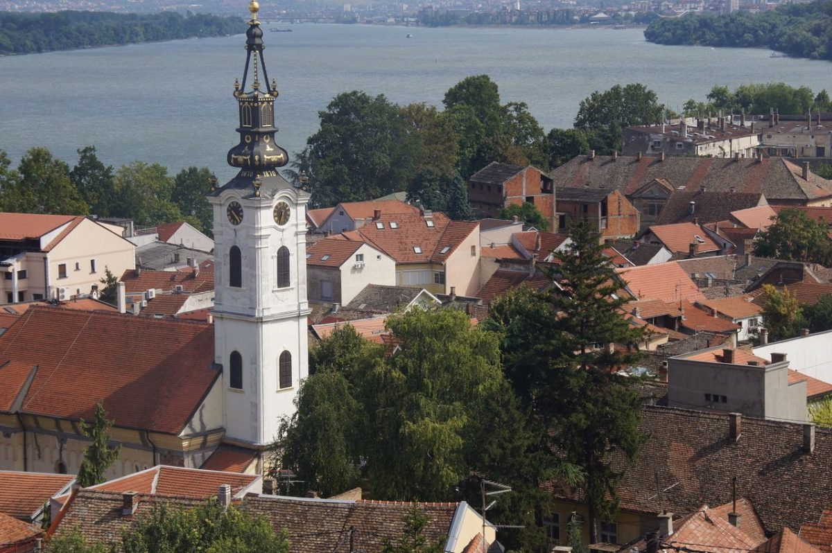 Zemun - a quiet town on the outskirts of Belgrade in Serbia