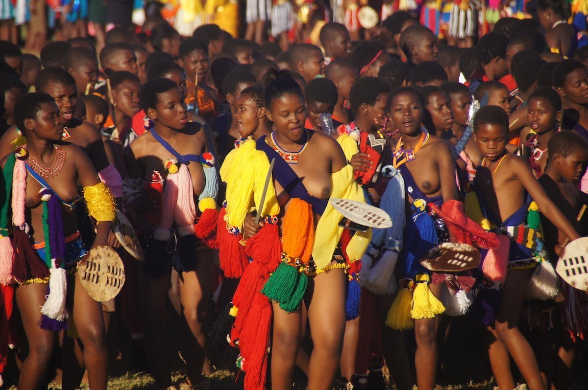 The exact dates of the Umhlanga festival change every year, but it's generally held in late August or early September.