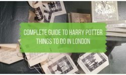 Harry Potter Things to Do in London