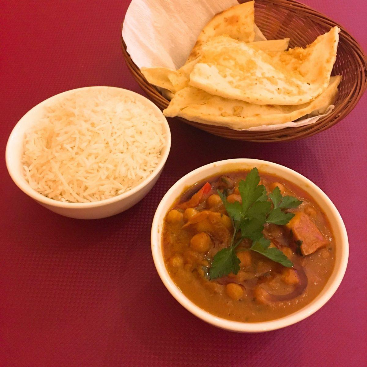 Vegan Indian food at Anki's