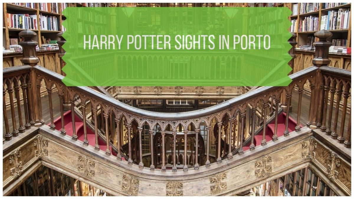 Harry Potter Sights in Porto Portugal