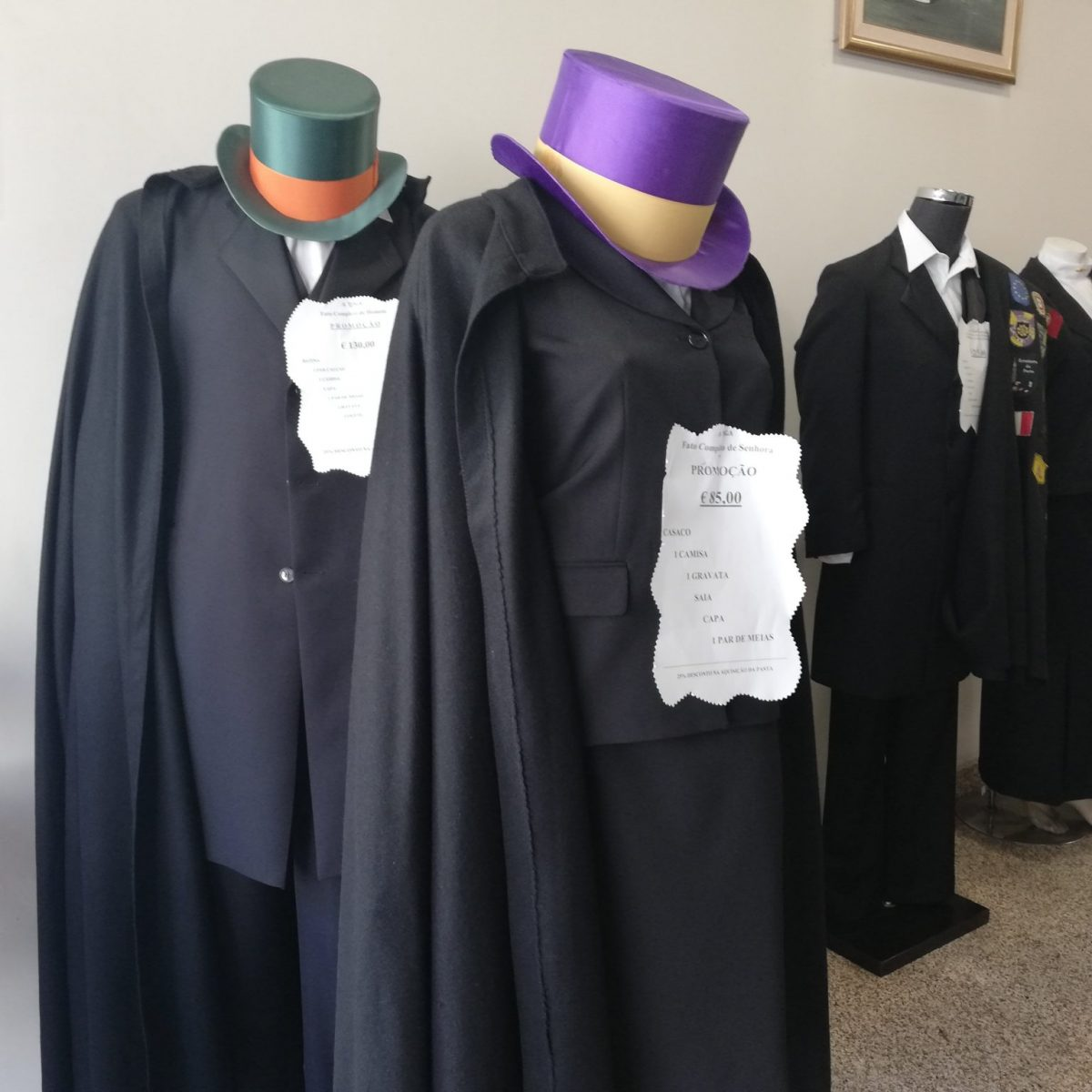 School robes for sale at A Toga